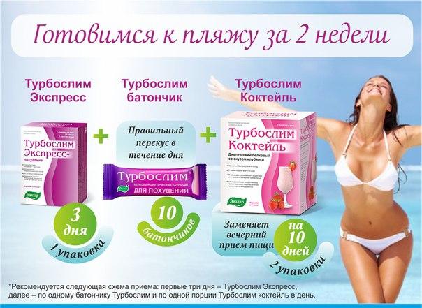 Продукты Турбослим