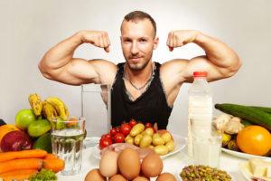 Во время спортивной диеты можно есть такие продукты