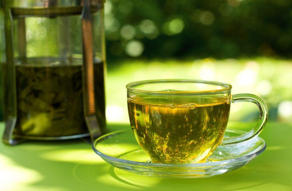 Полезный зеленый чай