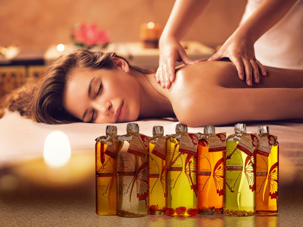 Эфирные масла при массаже