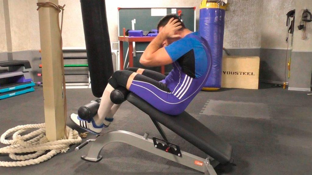 Как накачать мышцы пресса