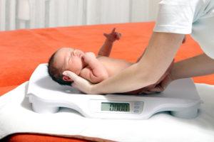 вес недоношенного ребенка