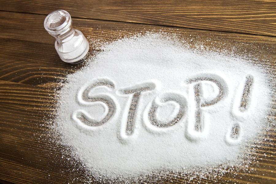 Минимизировать употребление соли