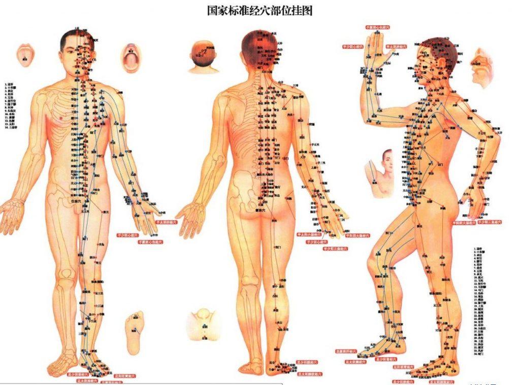точки на теле человека