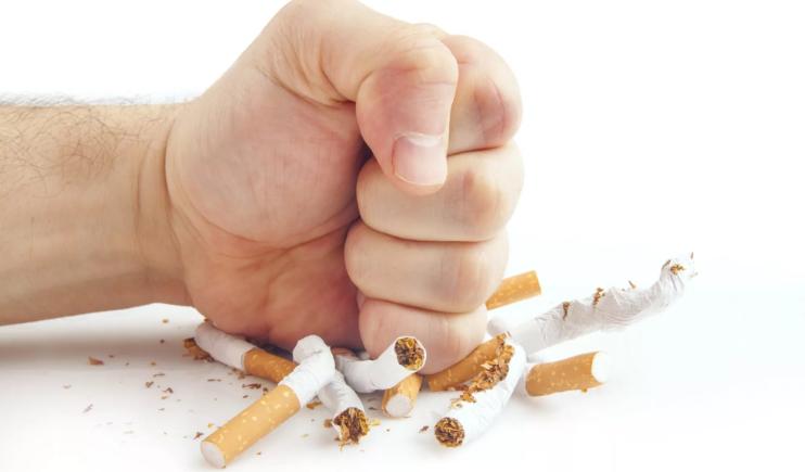 Отказаться от сигарет
