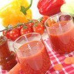 Овощной сок с мякотью