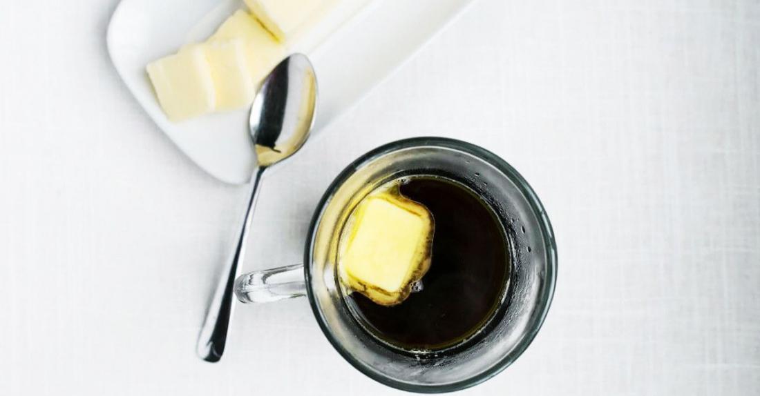 масло и кофе