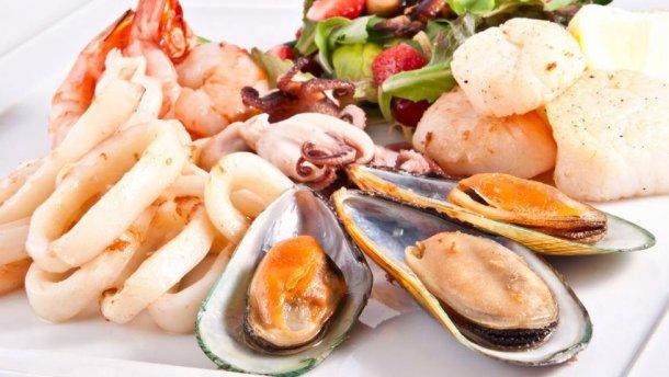 Морепродукты и постная рыба