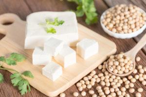 Тофу оказывает положительное воздействие
