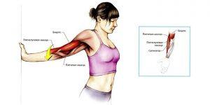 Провисание в дверном проеме. Раскрытие грудного отдела и растяжение мышц рук.