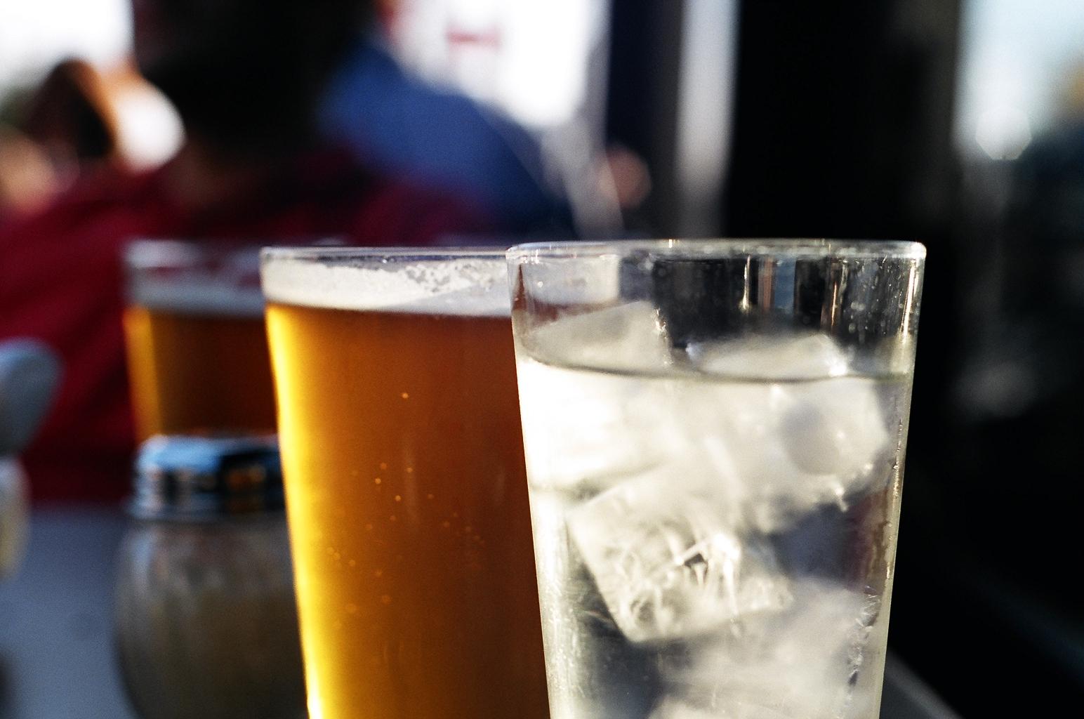 вода и пиво