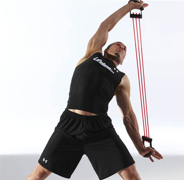 Эспандер грудной: упражнения для грудных мышц