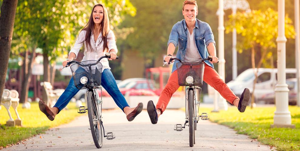 Катайтесь на велосипеде по выходным