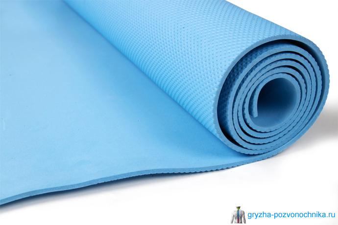 Типы ковриков для фитнеса