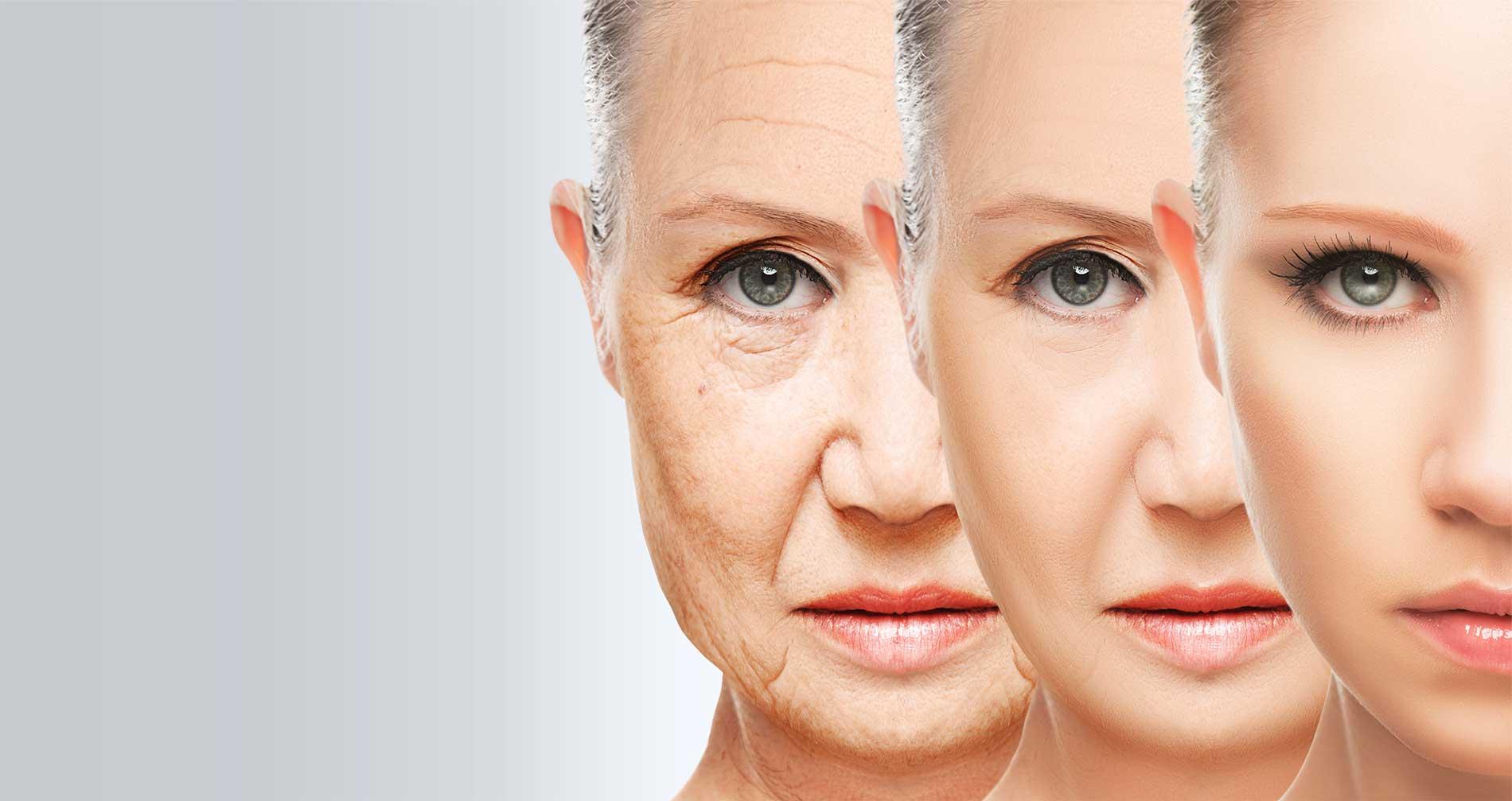 изменение лица с возрастом