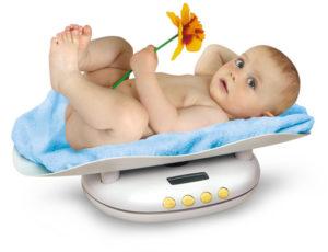 детские весы для новорожденных