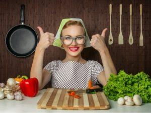 Правильно готовить пищу
