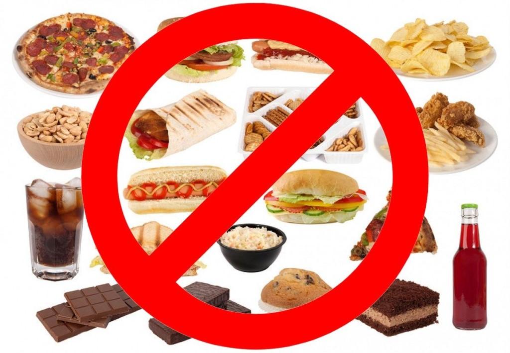 Ограничить в рационе количество сладостей и жирных продуктов