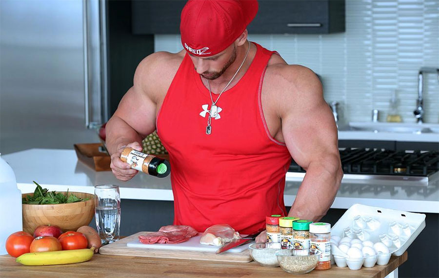 Правильное питание для эффективного набора мышечной массы