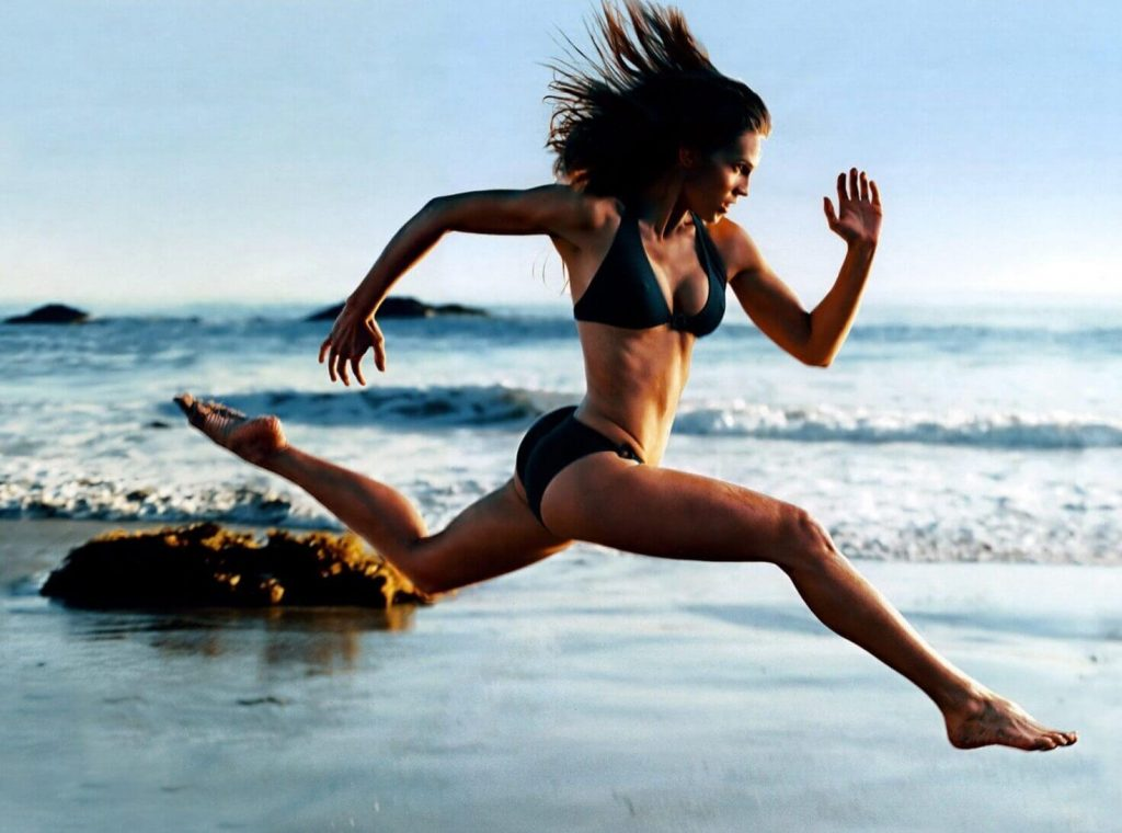 Красивое тело с помощью фитнеса