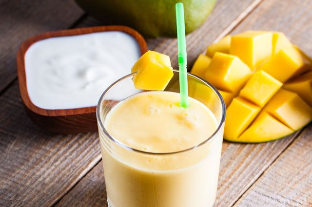 Манго-молочная диета