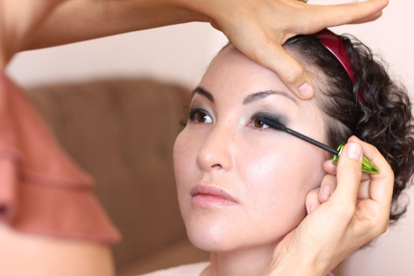 макияж нависшего века