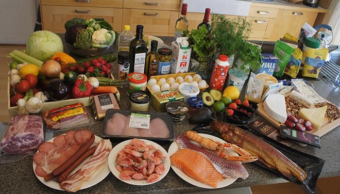 Разрешенные продукты питания для кетоновой диеты