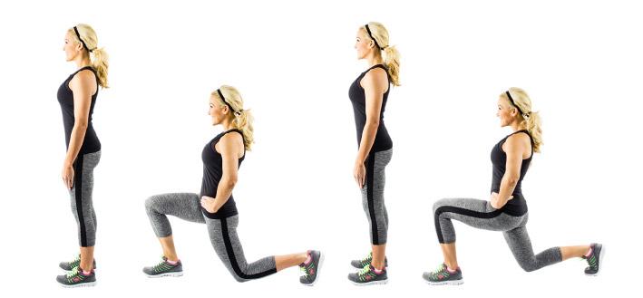 Фитнес упражнения дома