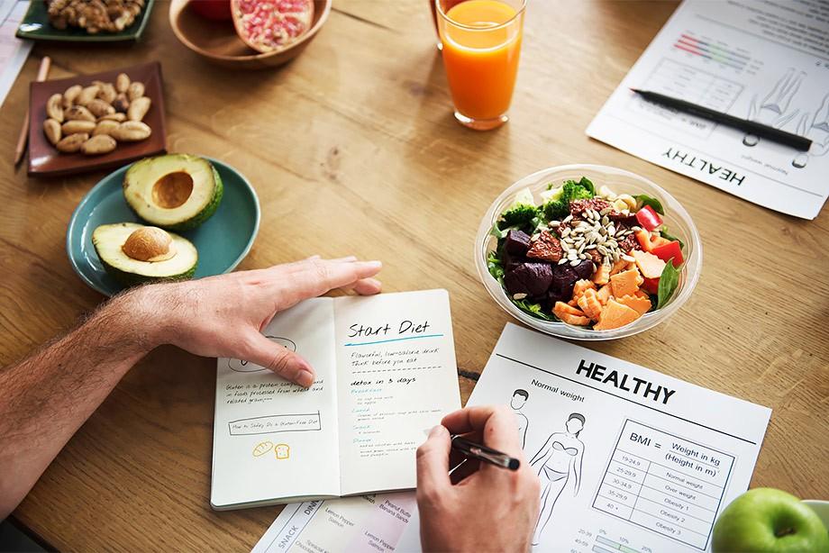 Значимость первого приема пищи на диете