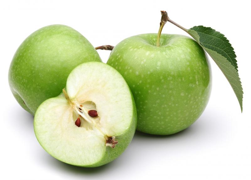 1 кг зеленых яблок