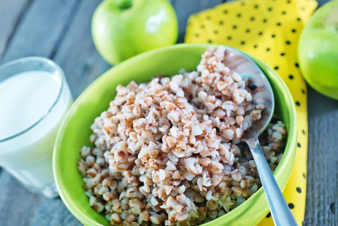 Варианты диеты на гречке и яблоках