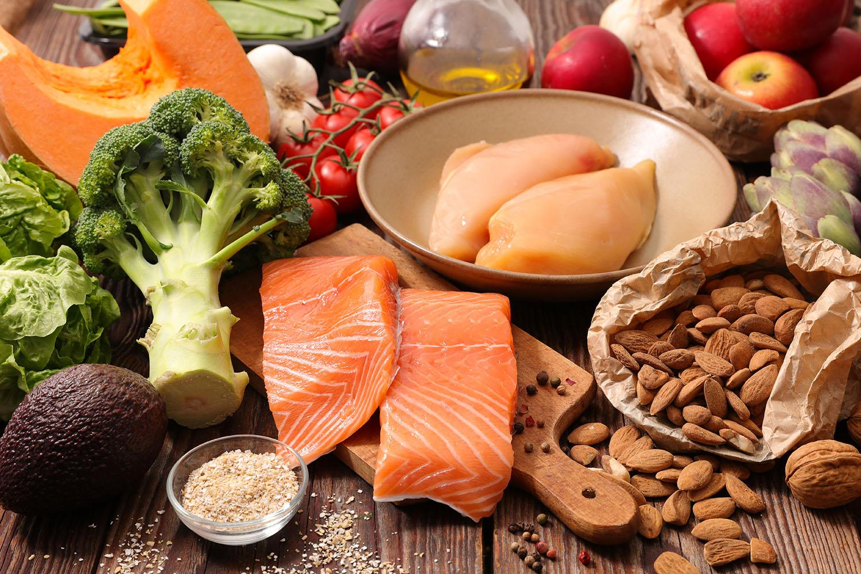 белки с овощами