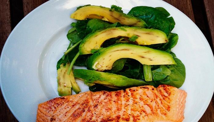 Готовое блюдо для кетогенной диеты