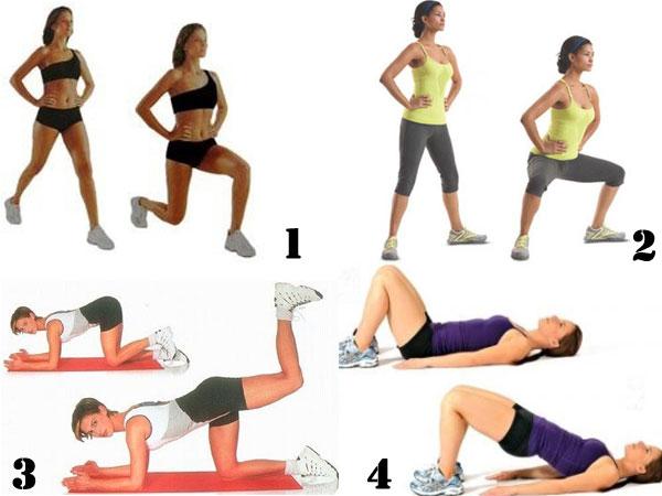 Эффективные упражнения для похудения