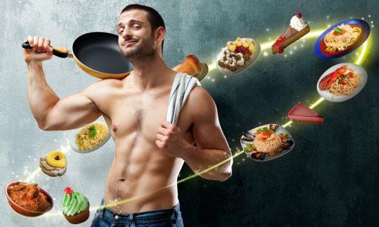 Меню для мужской диеты