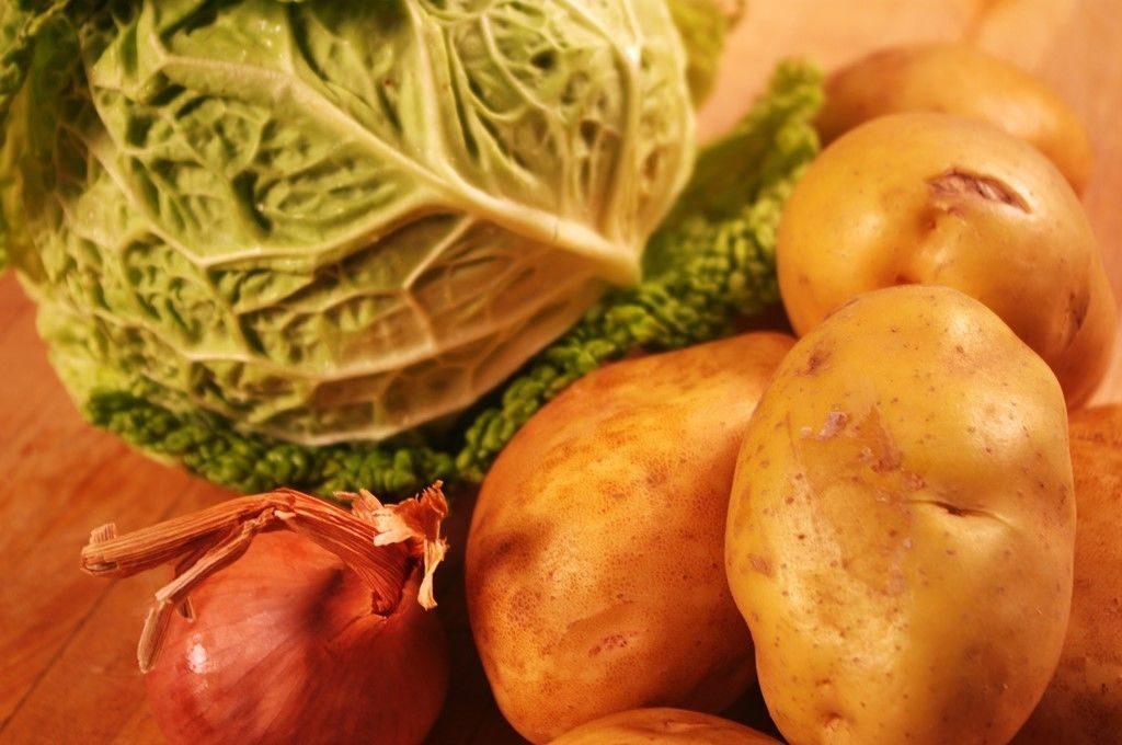 Картофель и капуста вместо алкоголя