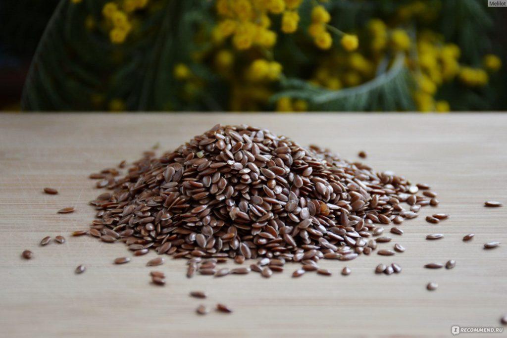 кефир с льняным семенем