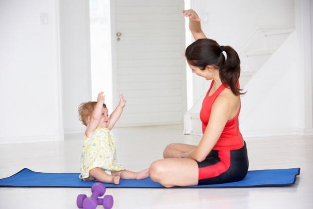Спорт после родов: когда можно начинать заниматься?
