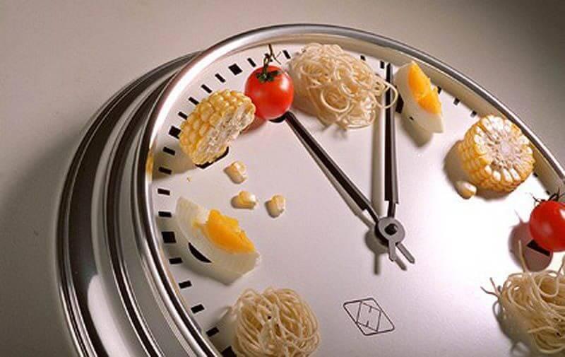 Выбирая время за тридцать минут до завтрака