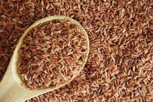 Рис неочищенный