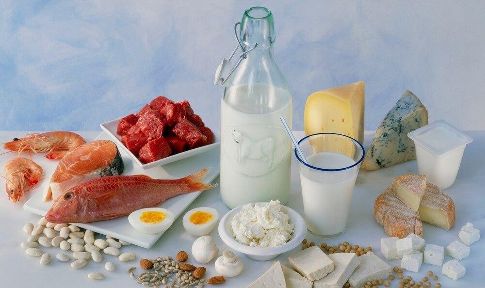Ассортимент продукции для белковой диеты