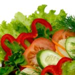 Нарезка из свежих овощей
