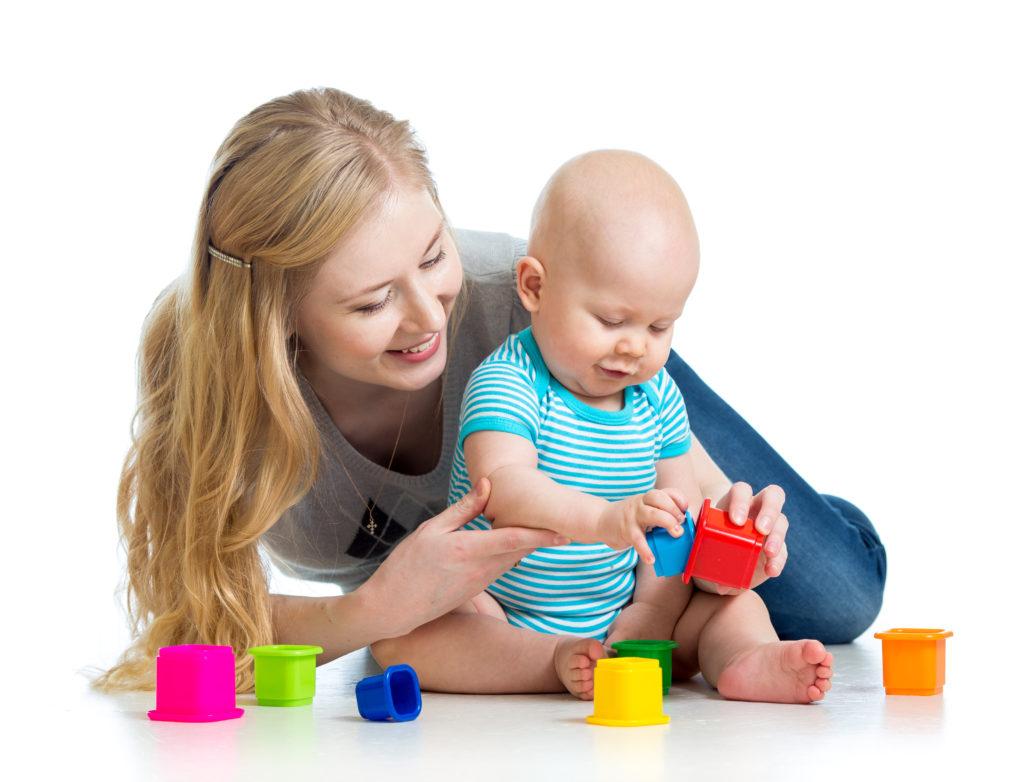 совместные игры с малышом