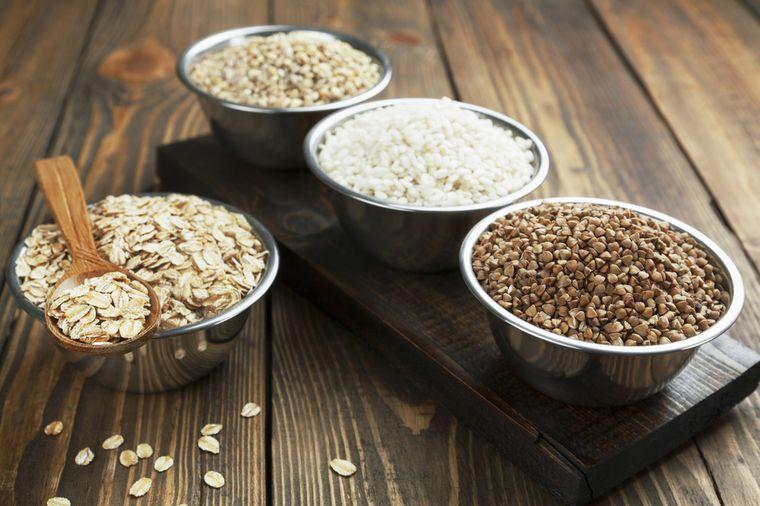 Диеты для похудения в домашних на кашах
