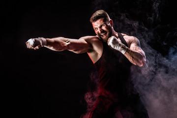 Какие мышцы отвечают за мощный удар