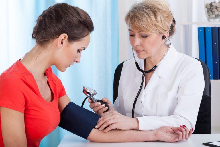 Женщины с повышенным кровяным давлением