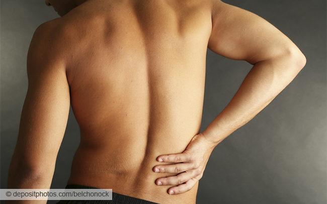 Первая помощь при растяжении мышц спины