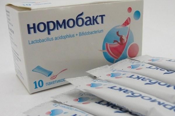 нормобакт в пакетиках