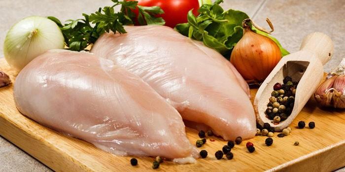 Диета на куриной грудке ы