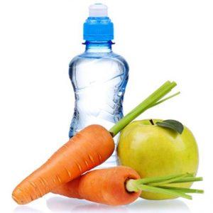 овощи фрукты и вода
